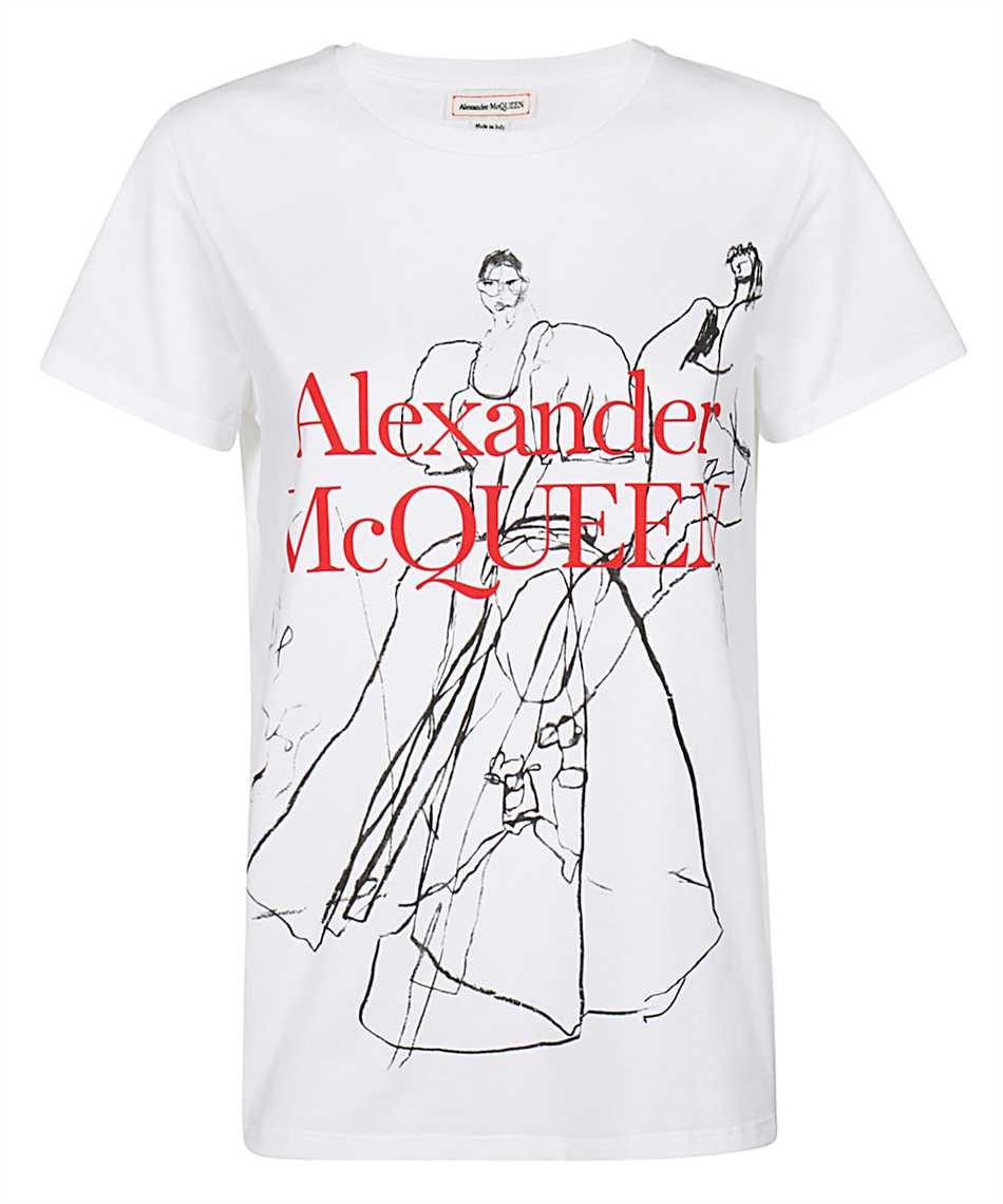 Alexander McQueen 620601 QZABD T-shirt 1