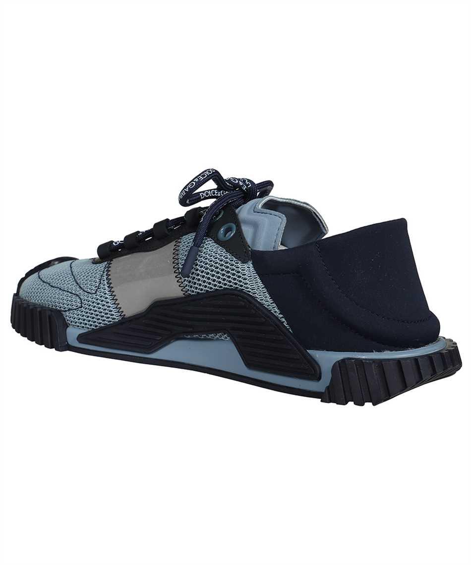 Dolce & Gabbana CS1769 AO225 MIXED MATERIAL NS1 SLIP-ON Sneakers 3