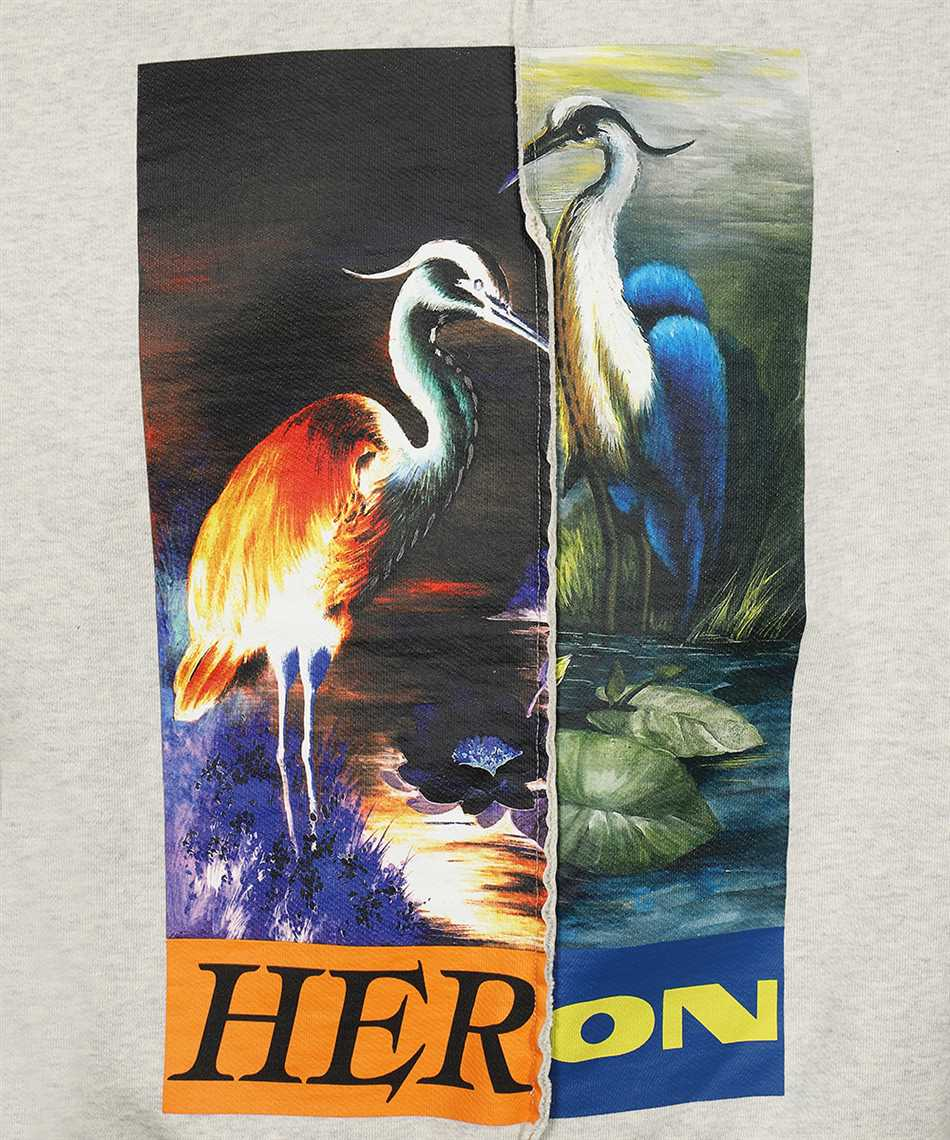 Heron Preston HMBA018F21JER002 SPLIT GRAPHIC Sweatshirt 3