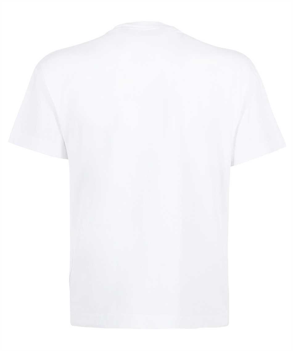 Palm Angels PMAA001F21JER001 ST BARTH HEART SPRAYED T-shirt 2