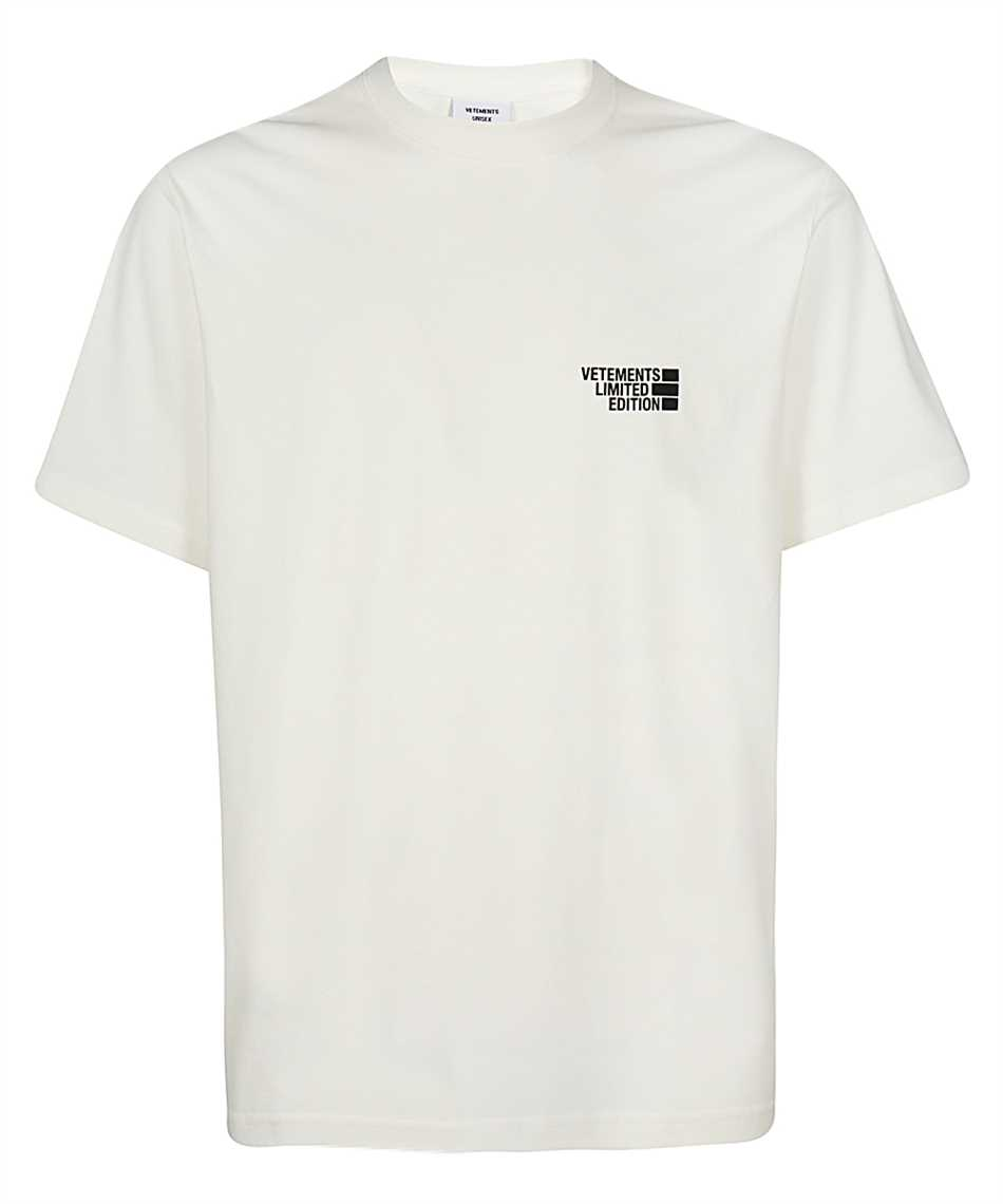 Vetements UE51TR720W LOGO LIMITED EDITION T-shirt 1