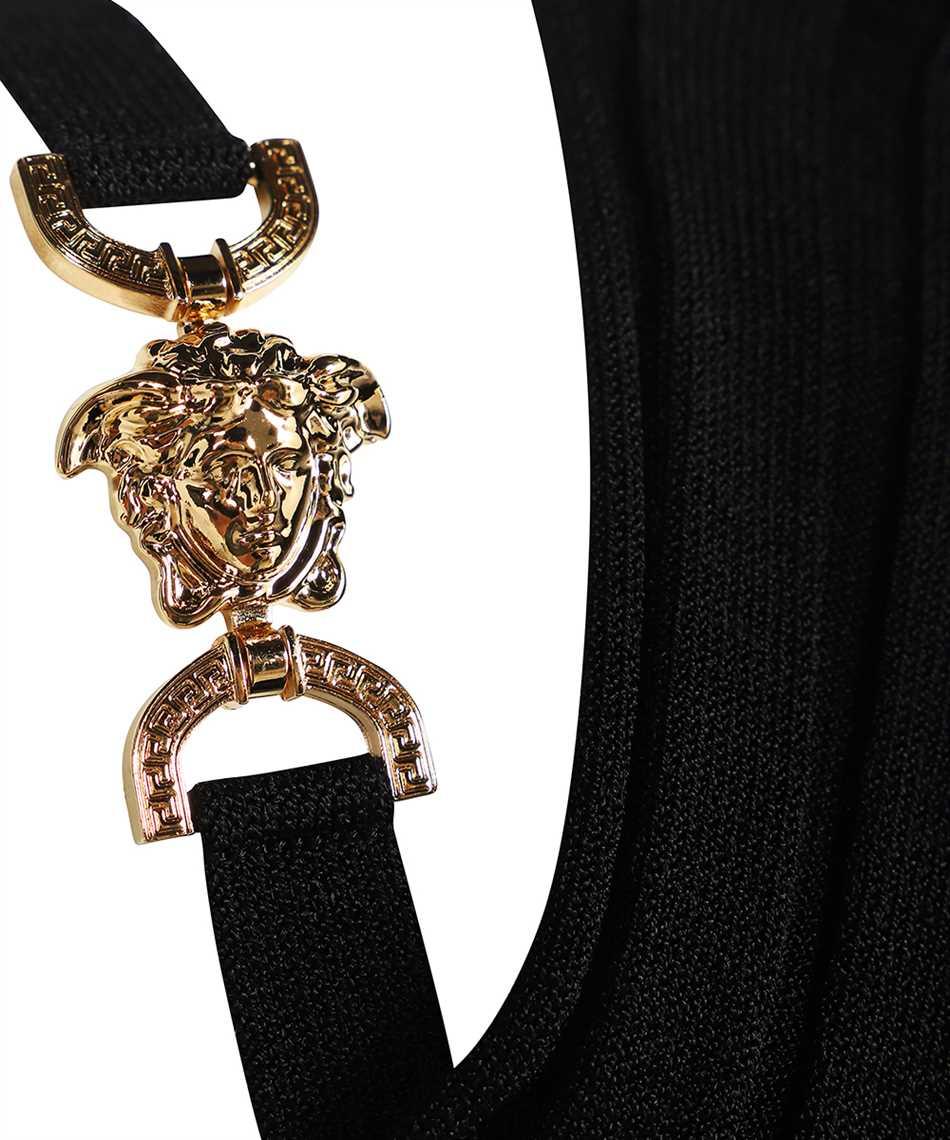 Versace 1000968 1A00664 MEDUSA RIBBED KNIT Dress 3