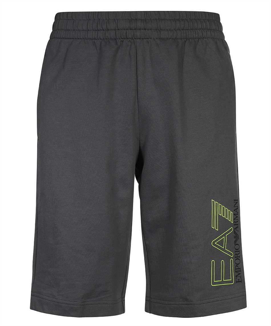 EA7 3KPS57 PJ05Z JERSEY FLEECE LOGO Shorts 1