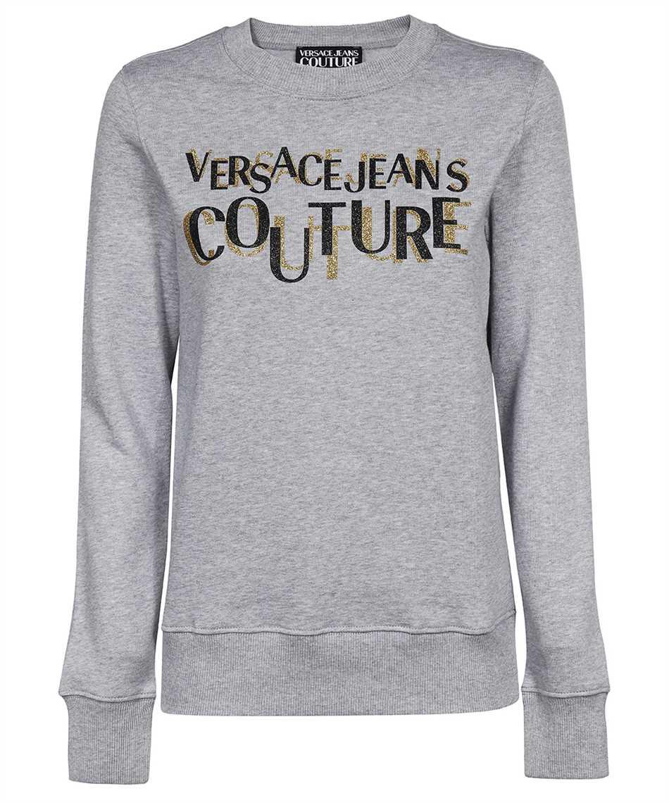 Versace Jeans Couture 71HAIT02 CF00T LOGO GLITTER Felpa 1