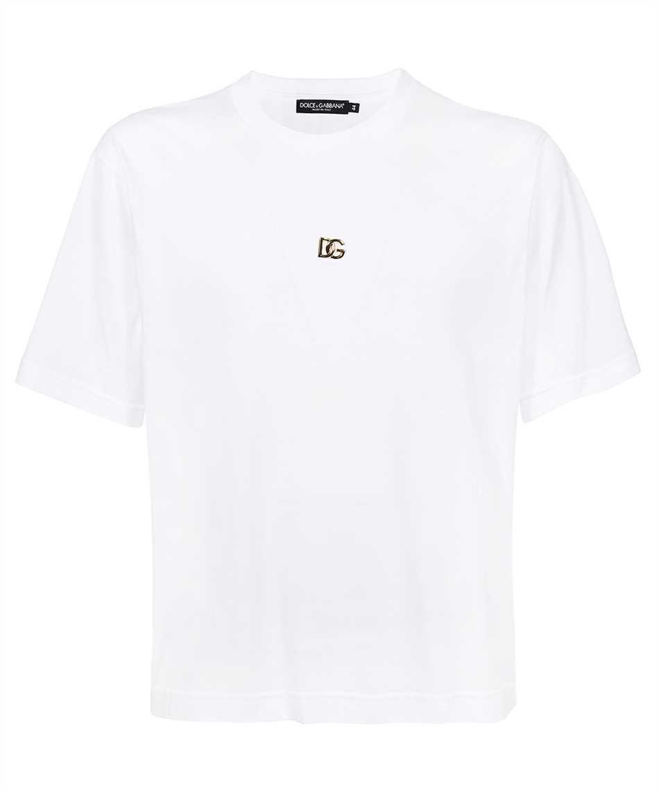 Dolce & Gabbana G8NC5Z G7A0W GOLD LOGO T-Shirt 1