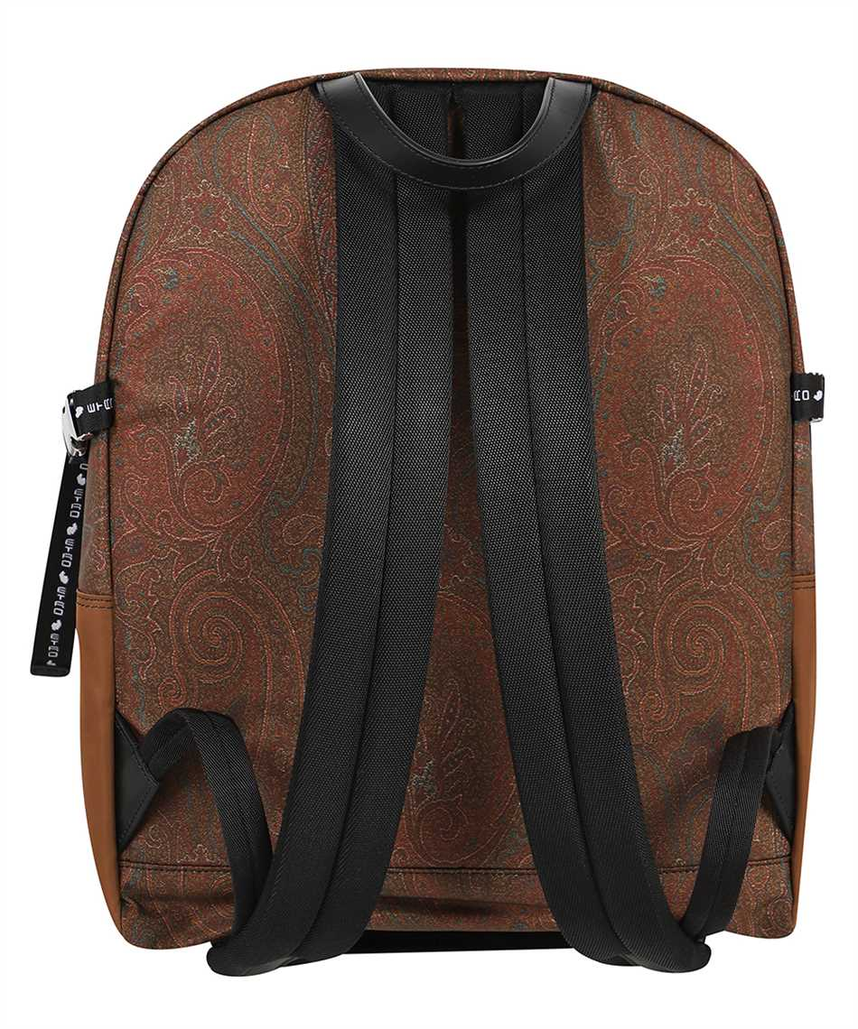 Etro 1N553 8568 PAISLEY WITH MULTICOLORED DETAILS Backpack 2
