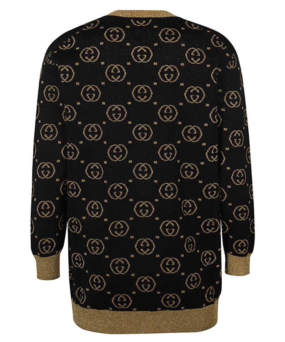 Gucci 555014 XKAH9 GG MOTIF Cardigan 2