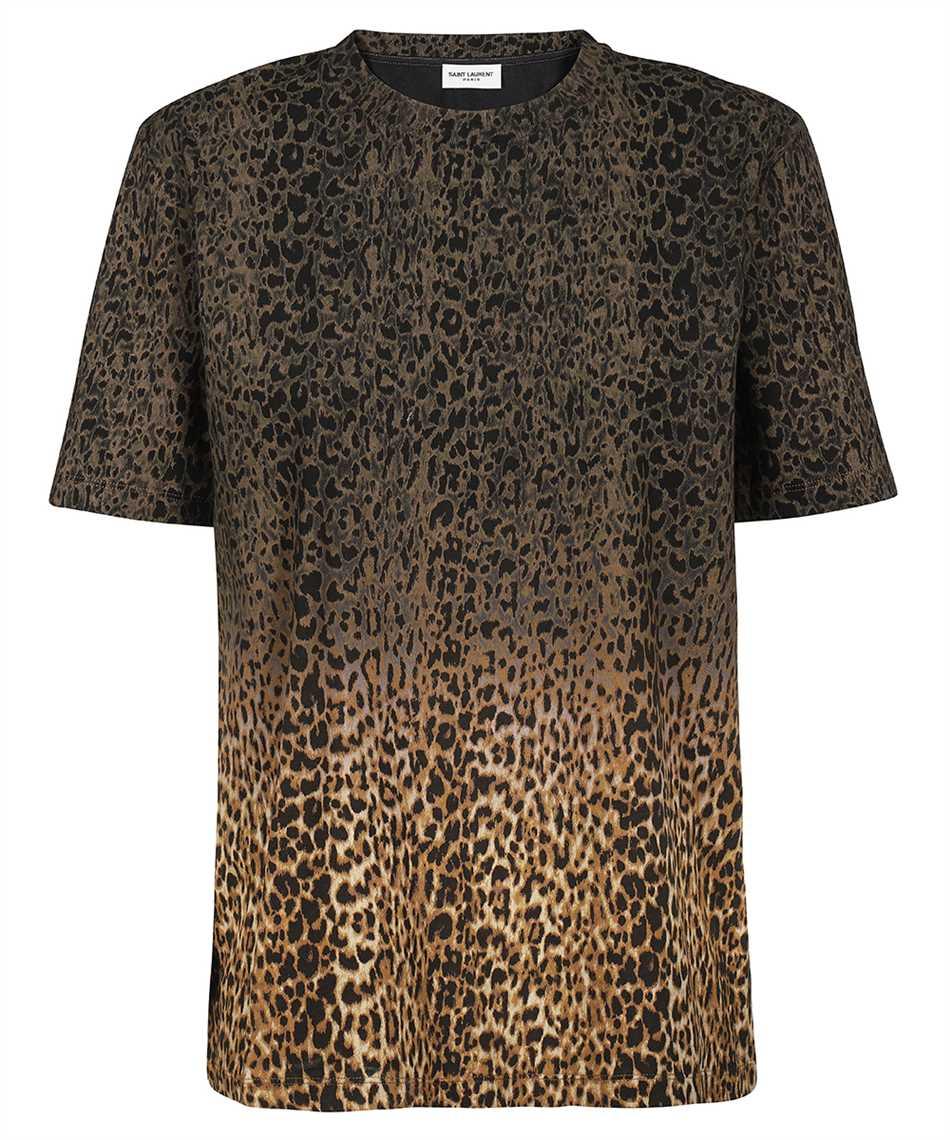 Saint Laurent 653937 Y36DD TIE-DYE LEOPARD-PRINT T-shirt 1