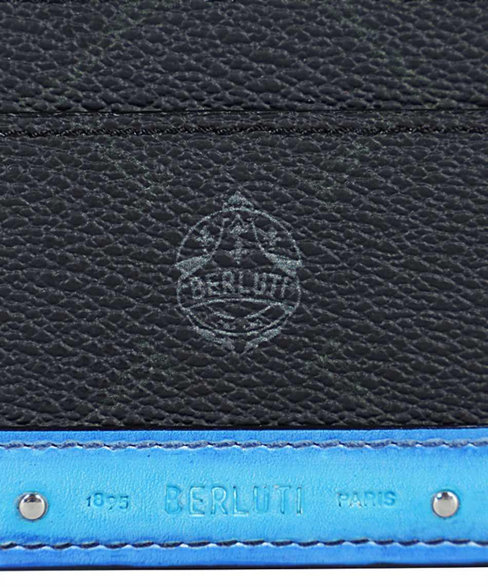 BERLUTI N214788 SÉJOUR CANVAS AND LEATHER Card holder 3