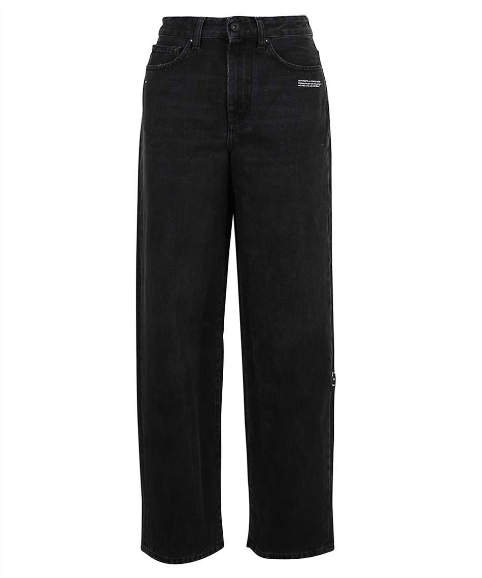 Off-White OWYA033F21DEN002 EXTRA BAGGY Jeans 1