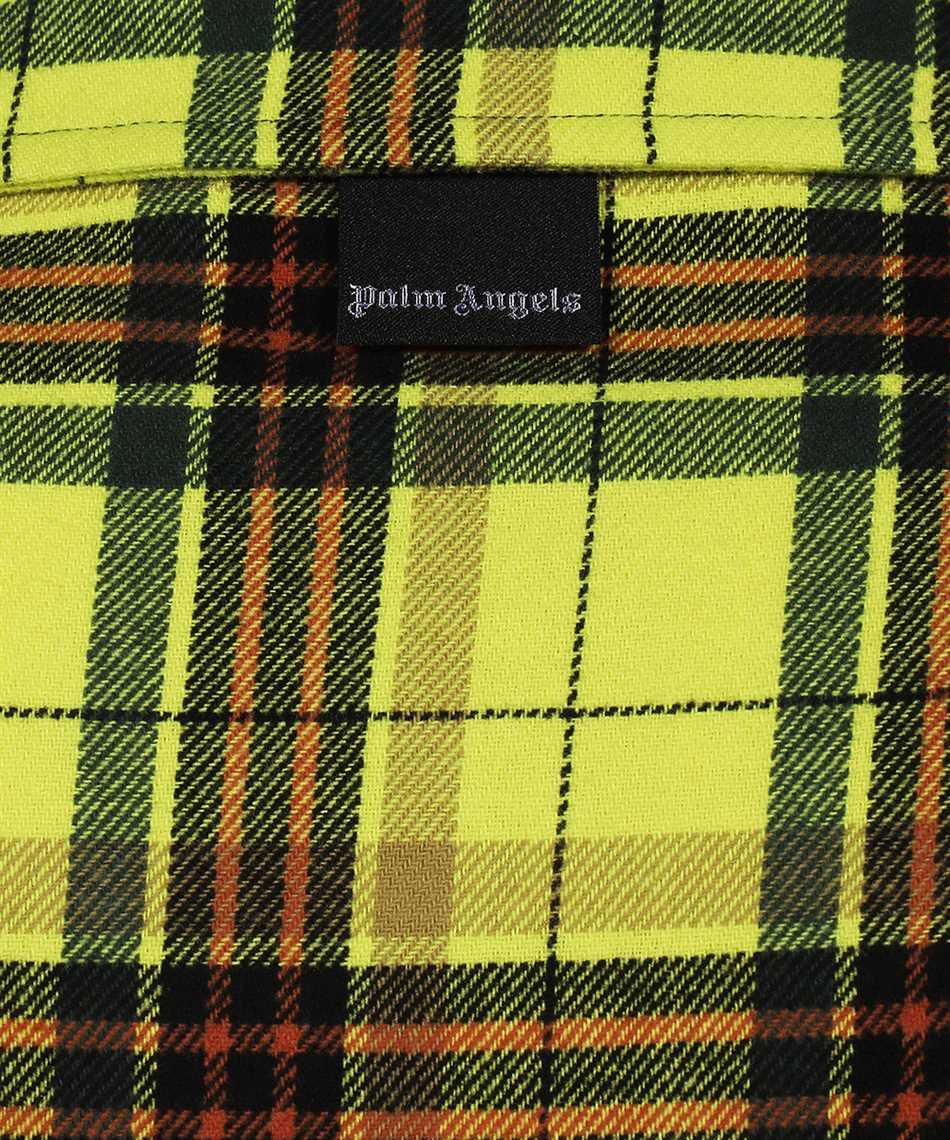 Palm Angels PMGA075F21FAB001 CURVED LOGO BOWLING Shirt 3