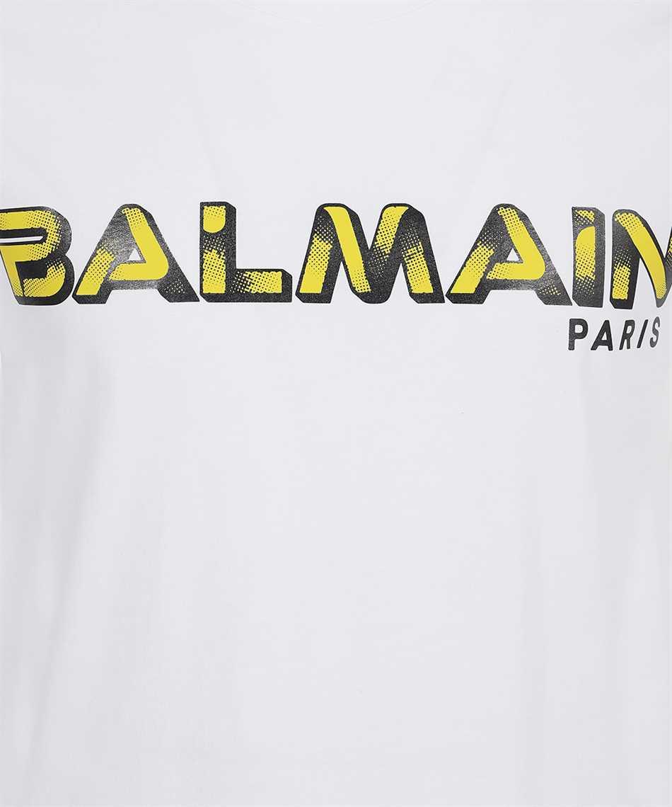 Balmain WH1EF000B138 PRINTED LOGO T-Shirt 3