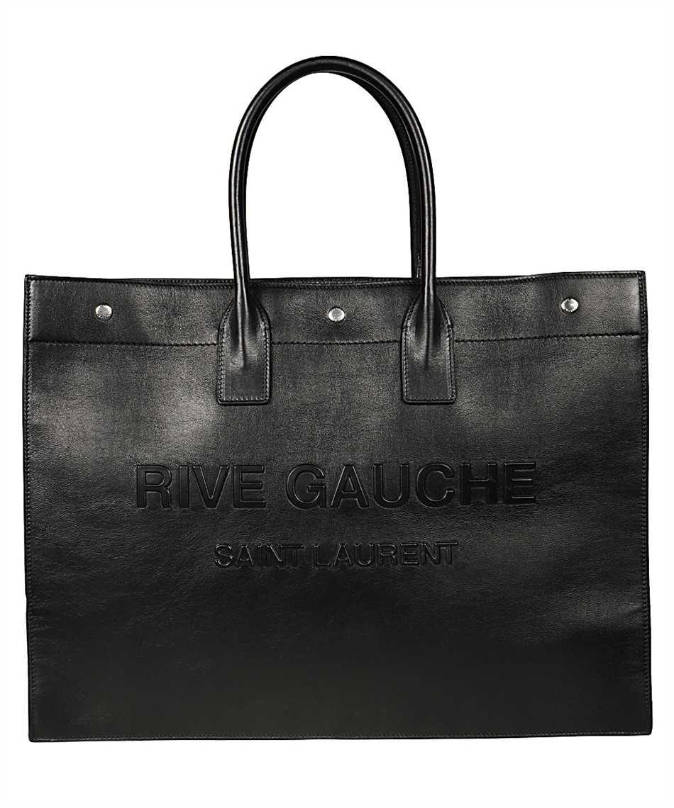Saint Laurent 587273 CWTFE RIVE GAUCHE LARGE TOTE Borsa 1