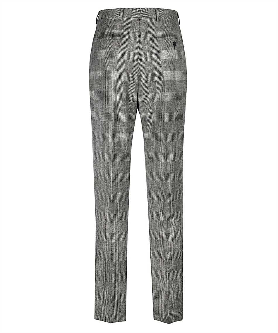 Saint Laurent 596927 Y1B54 PRINCE OF WALES FLANNEL Pantalone 2