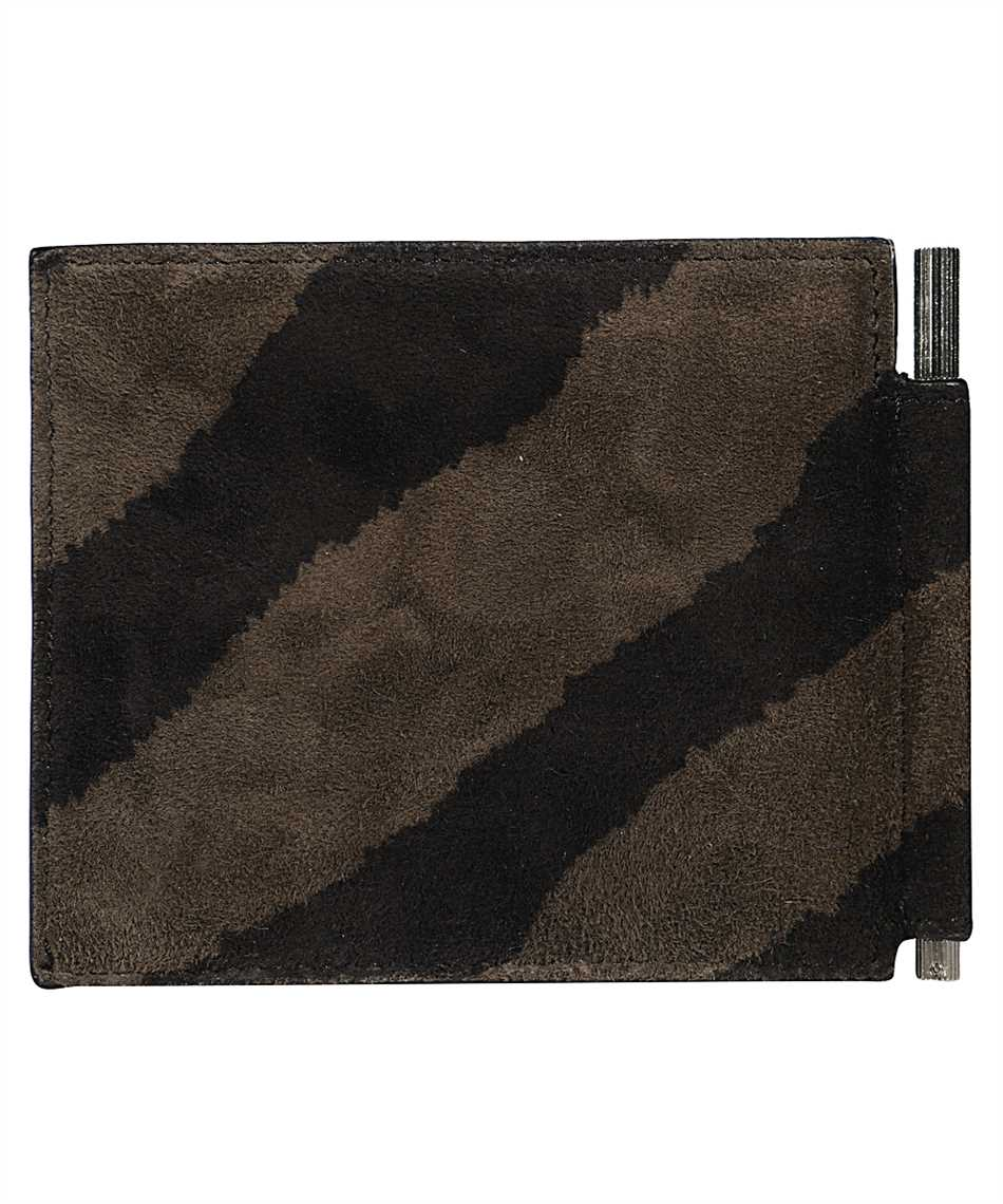 Tom Ford Y0231P-LCL078 ZEBRA SUEDE Wallet 2