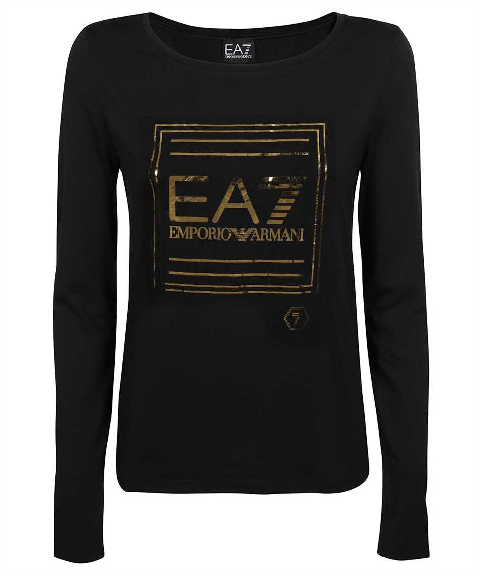 EA7 3KTT33 TJ28Z GOLD LOGO T-shirt 1