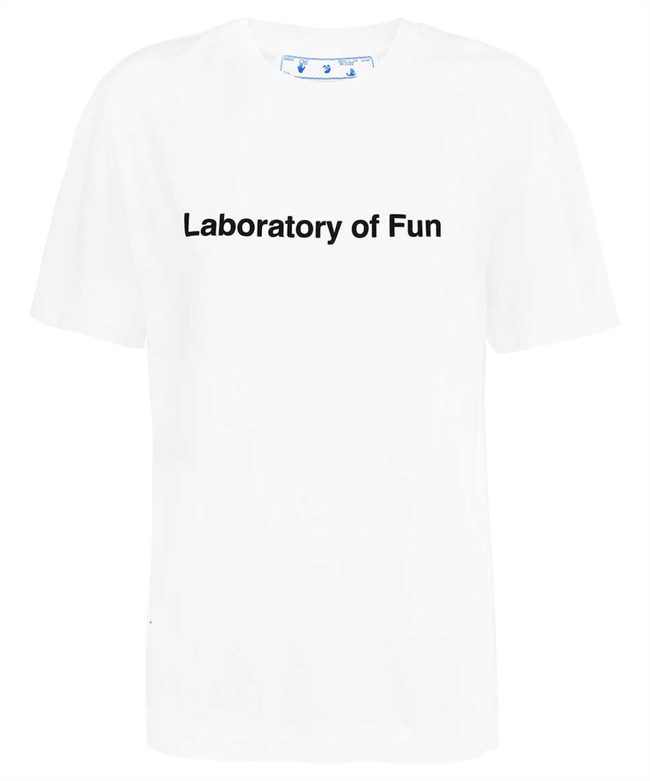 Off-White OWAA089F21JER010 LABORATORY OF FUN REG T-shirt 1