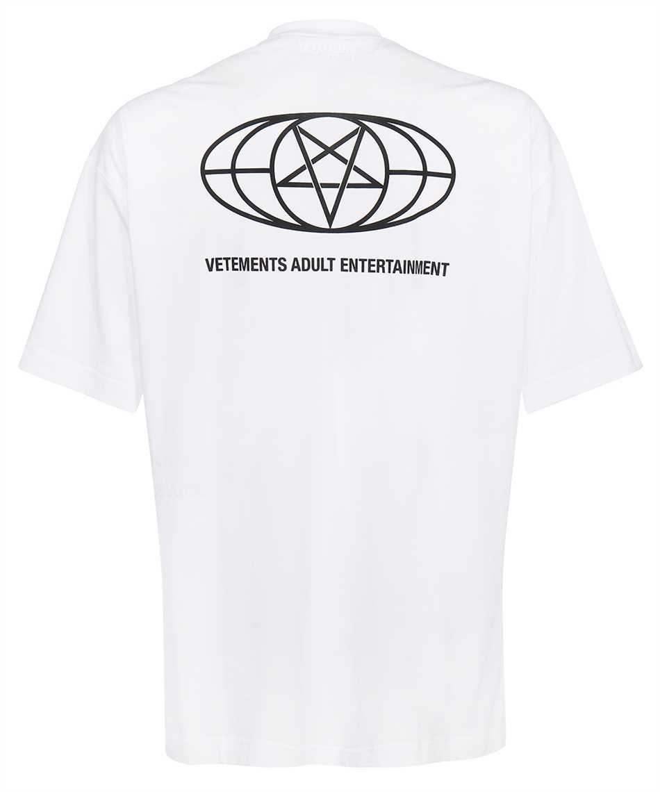 Vetements UA52TR390W 18+ RESTRICTED T-shirt 2