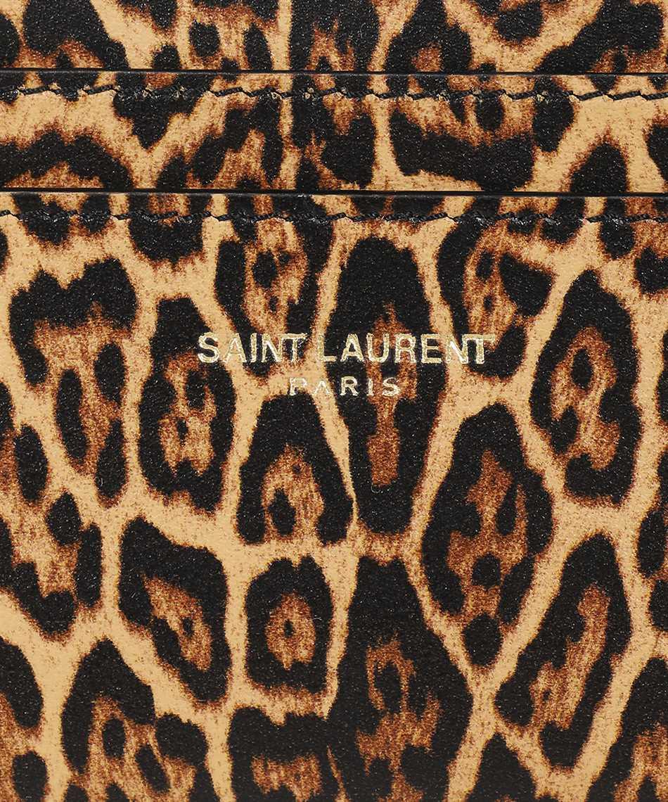 Saint Laurent 370779 12S0J Porta carte di credito 3