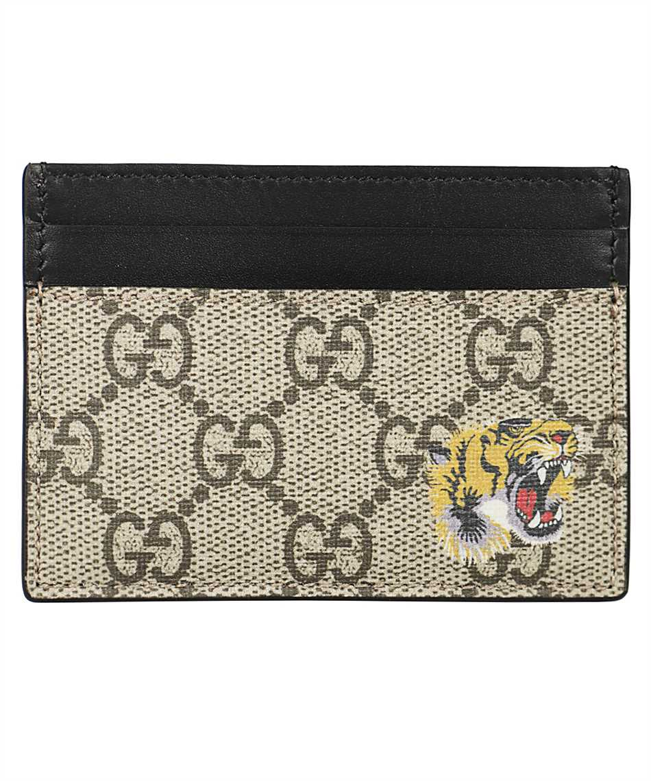 Gucci 451277 K5X1N TIGER GG SUPREME Card holder 1