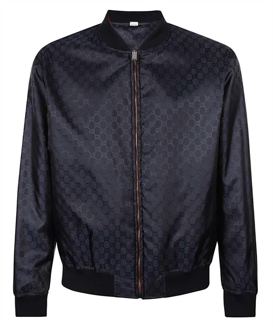 Gucci 521764 Z789C REVERSIBLE GG NYLON BOMBER Jacket 2