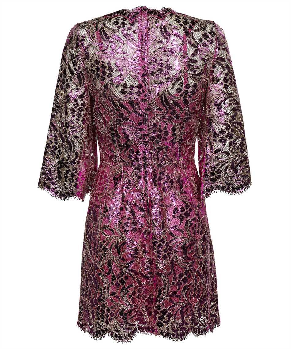 Dolce & Gabbana F6R5UT HLM4T SHORT LAMINATED LACE Kleid 2
