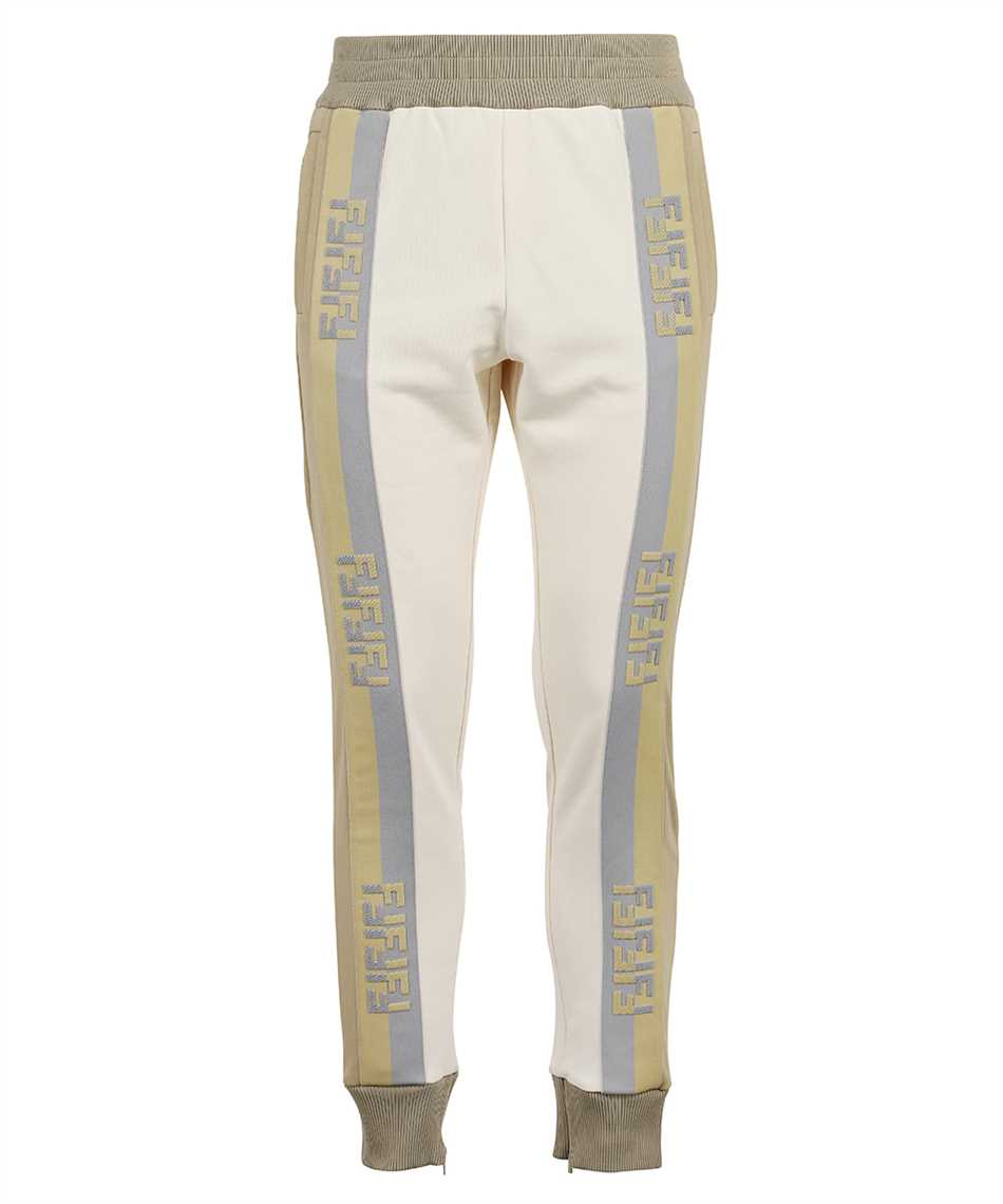 Fendi FAB562 A529 JERSEY JOGGING Trousers 1