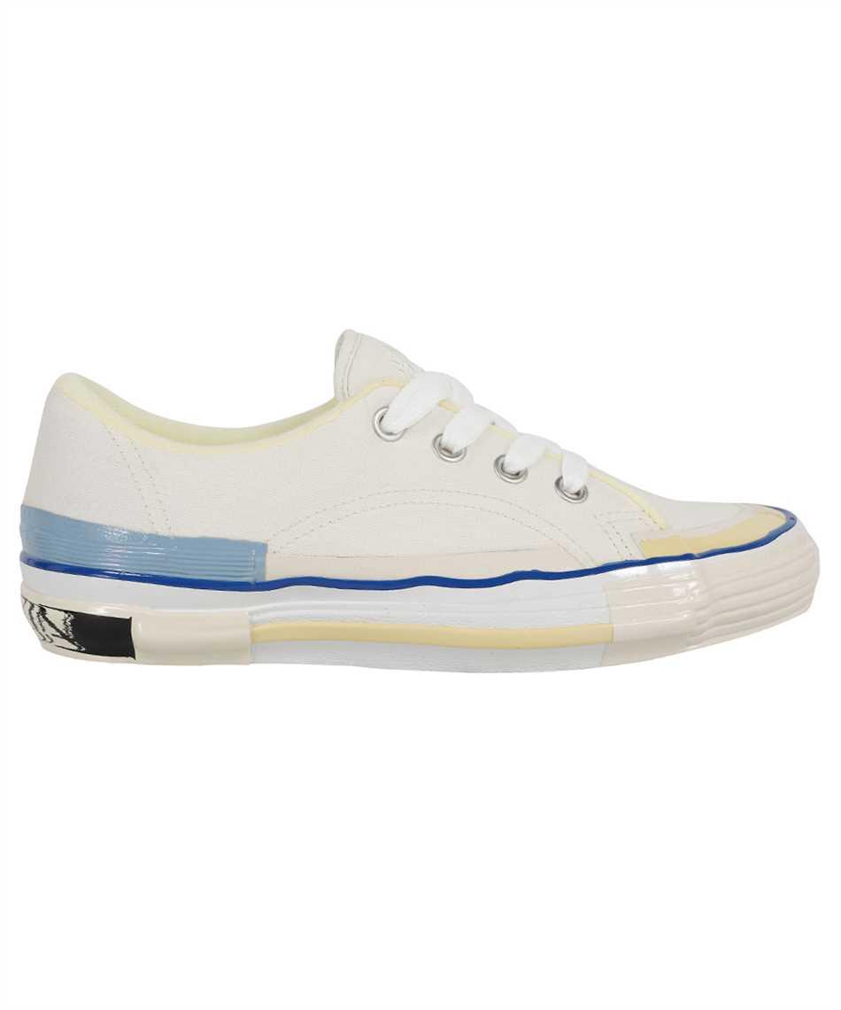 Lanvin FM SKIK00 CANV E21 VULCANIZED MLTED COTTON Sneakers 1