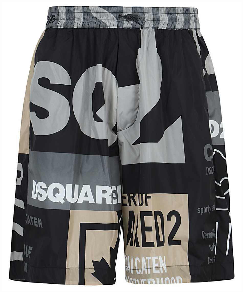 Dsquared2 S74MU0632 S53720 NYLON ULTIMATE PATCHWORK Shorts 1