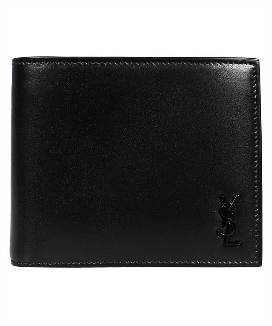 Saint Laurent 607727 1JB0U TINY MONOGRAM E/W Porta carte di credito 1
