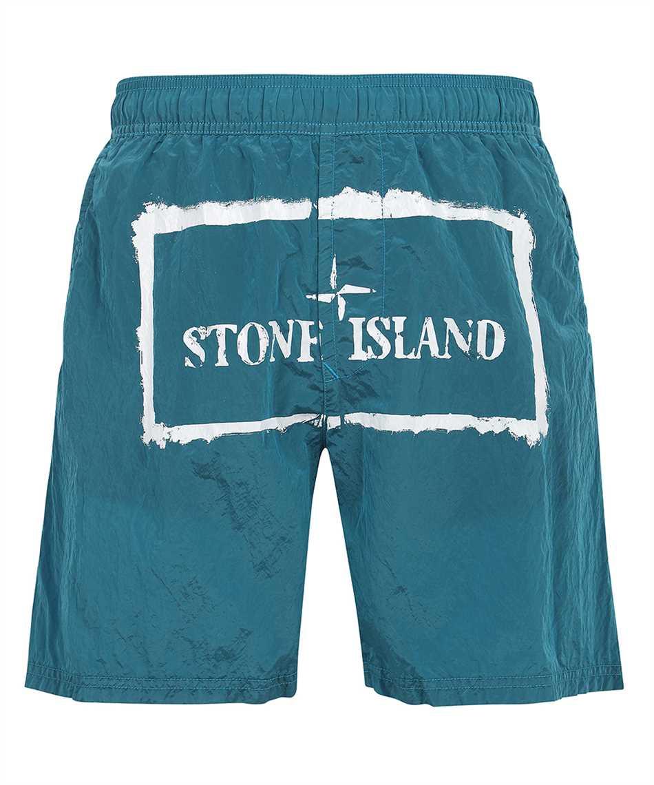 Stone Island B0992 NYLON METAL STENCIL PRINT Shorts 1