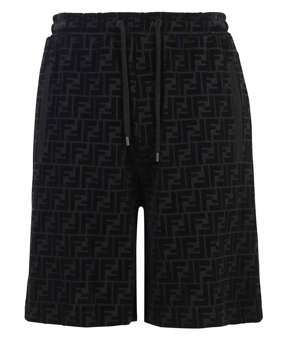 Fendi FB0689 A7D5 FF PIQUET PRINT Shorts 1