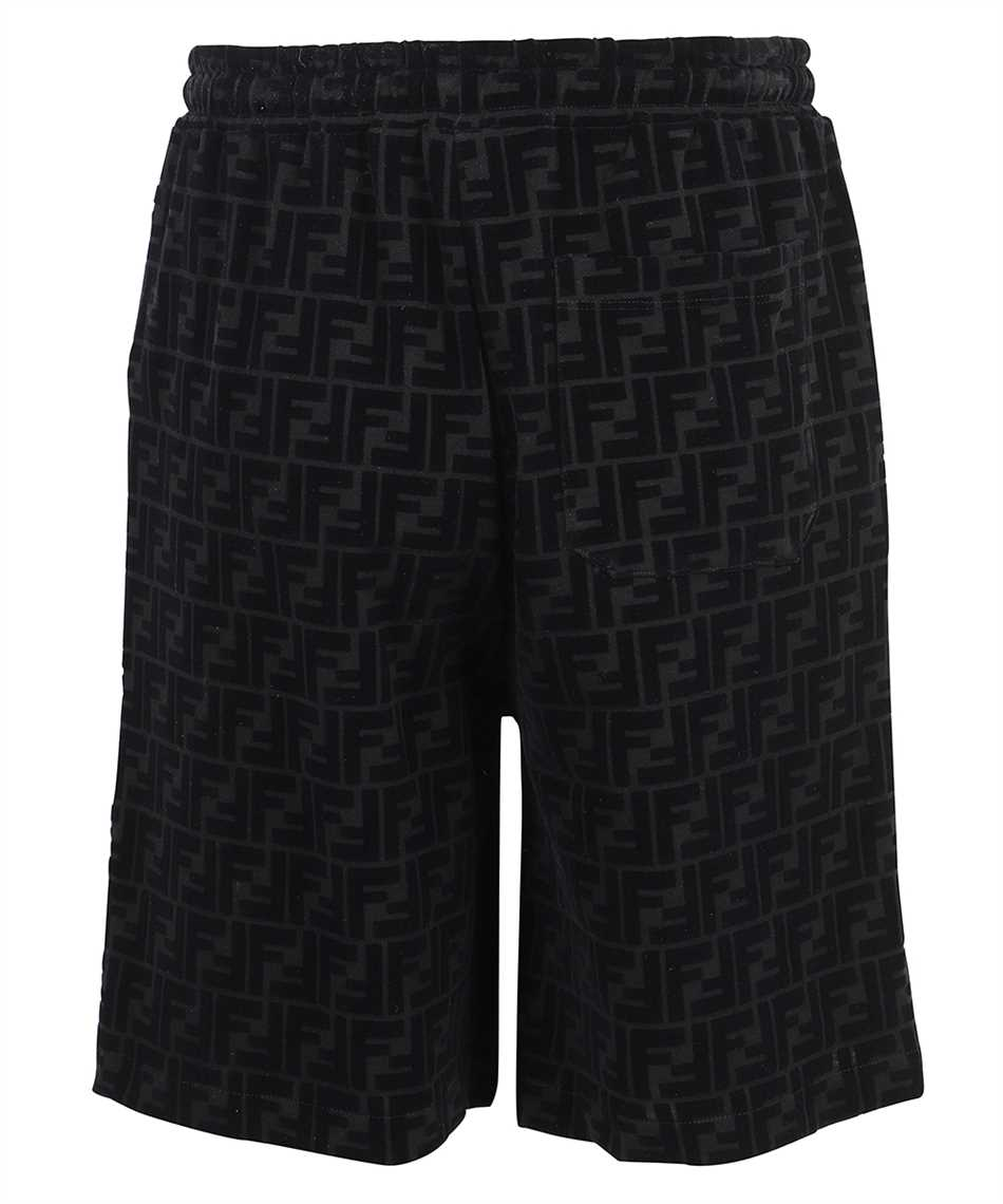 Fendi FB0689 A7D5 FF PIQUET PRINT Shorts 2
