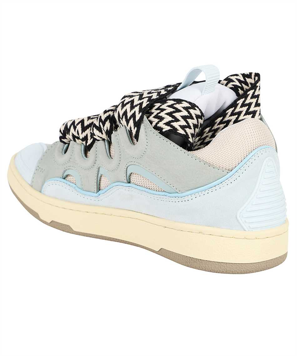 Lanvin FW SKDK02 DRAG A21 LEATHER CURB Sneakers 3