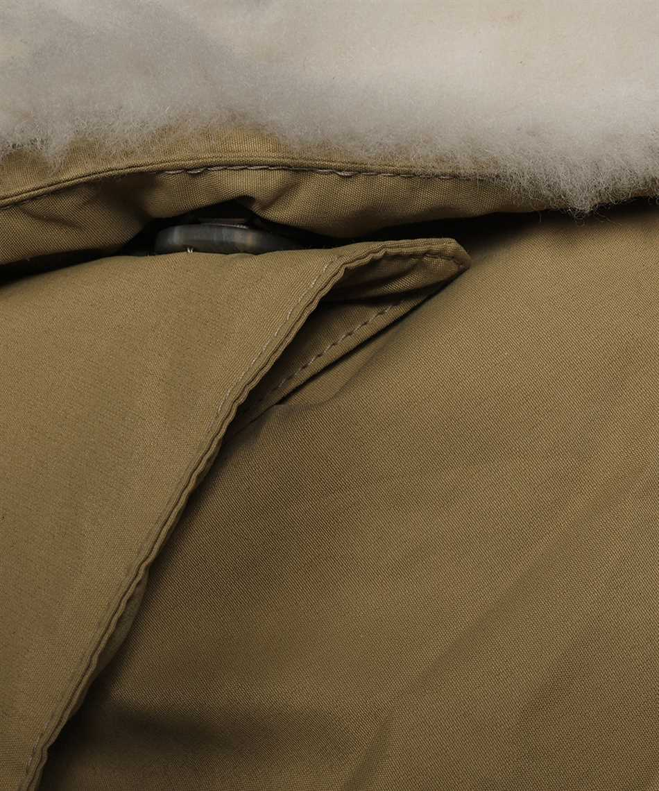 Karl Donoghue NCCPSW1 NYLON & CASHMERE TOUCH SHEARLING PADDED Schal 3