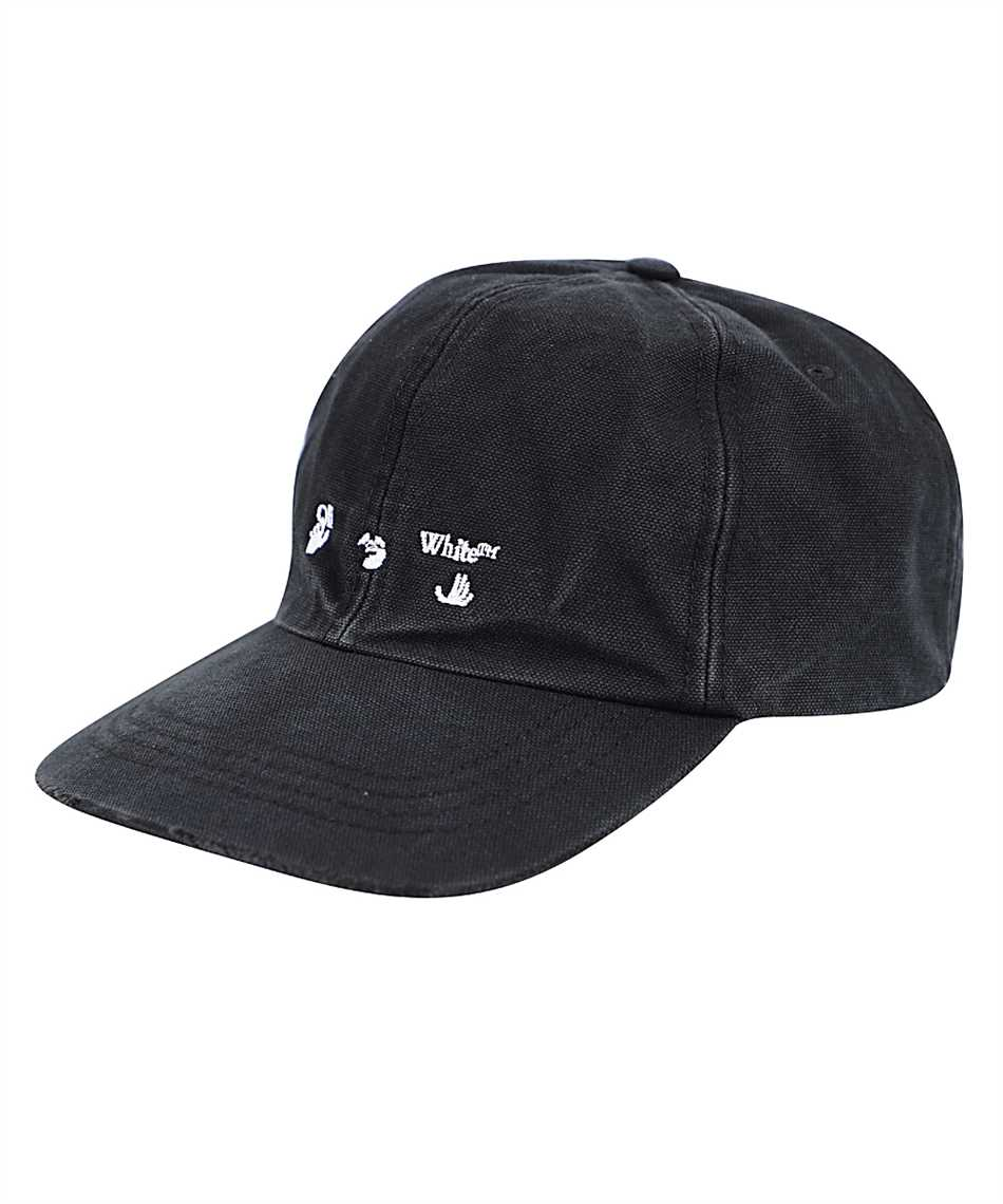 Off-White OMLB022F20FAB001 BASEBALL Cap 1