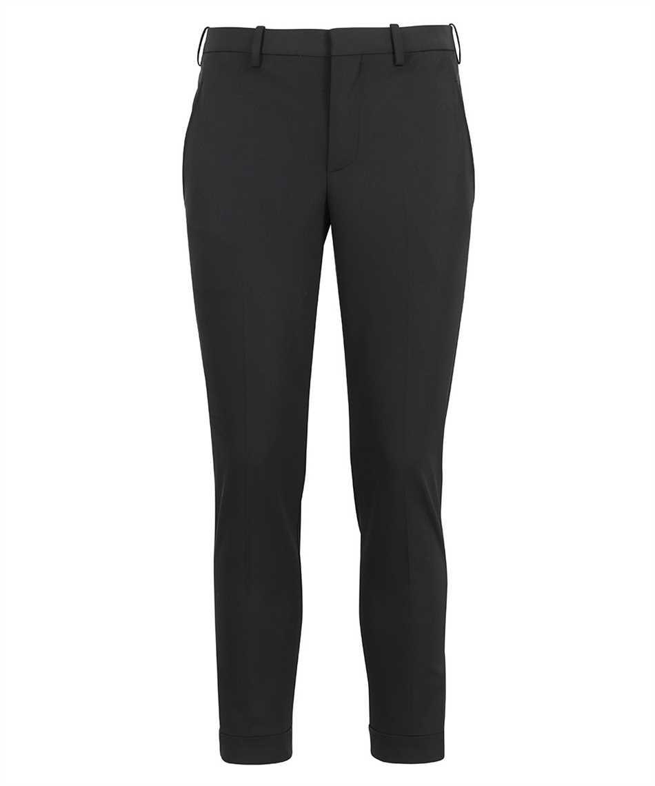 Neil Barrett PBPA488 Q012 TRAVEL SLIM REGULAR RISE Pantalone 1