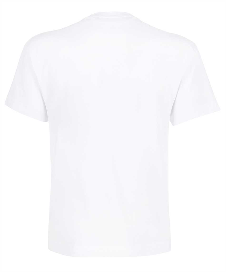 Palm Angels PMAA001F21JER005 ASPEN HEART SPRAYED T-Shirt 2
