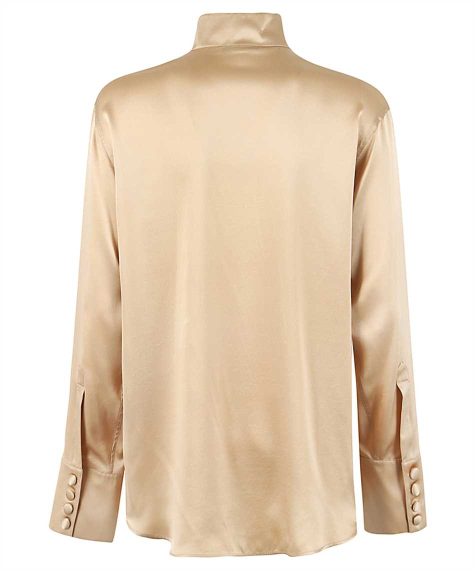 Balmain UF02693111S OVERSIZED SATIN Shirt 2