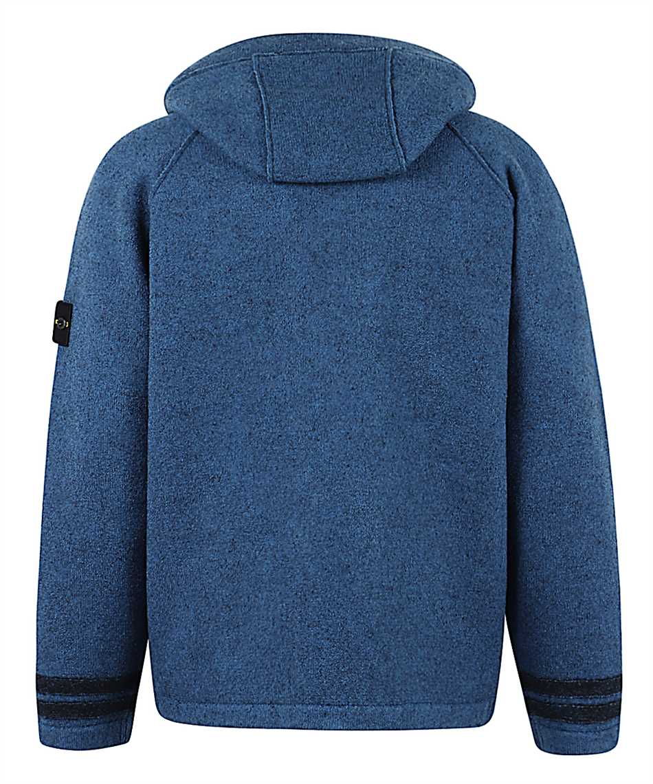 Stone Island 565A6 FELTED PURE WOOL Giacca 2