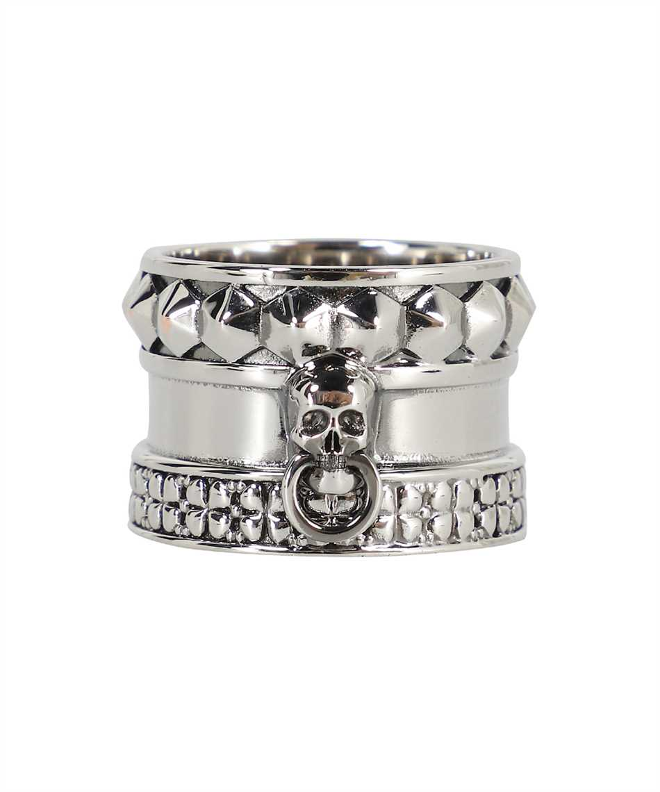 Alexander McQueen 663821 J160Y SKULL AND SPIKE Ring 3