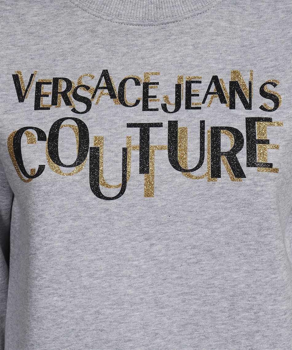 Versace Jeans Couture 71HAIT02 CF00T LOGO GLITTER Felpa 3