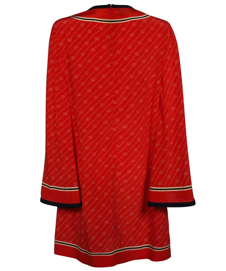 Gucci 661958 ZAHAX GG DIAGONAL SILK Shirt 2