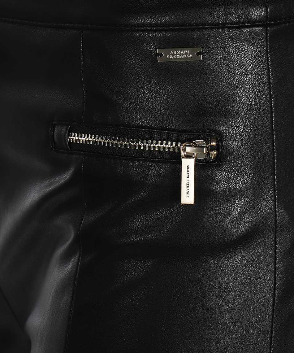 Armani Exchange 6HYP11 YNKNZ FAUX LEATHER Trousers 3