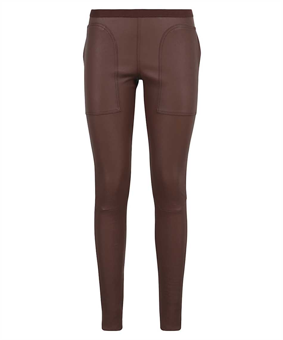 Rick Owens RP21S3319LS SLIM-FIT LEATHER Trousers 1