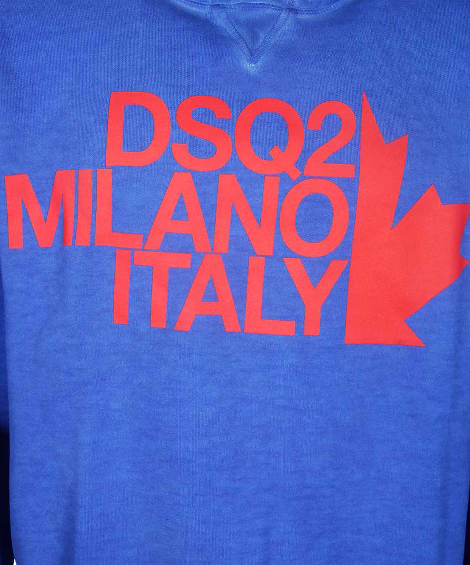 Dsquared2 S71GU0318 S25030 MILANO ITALY Felpa 3
