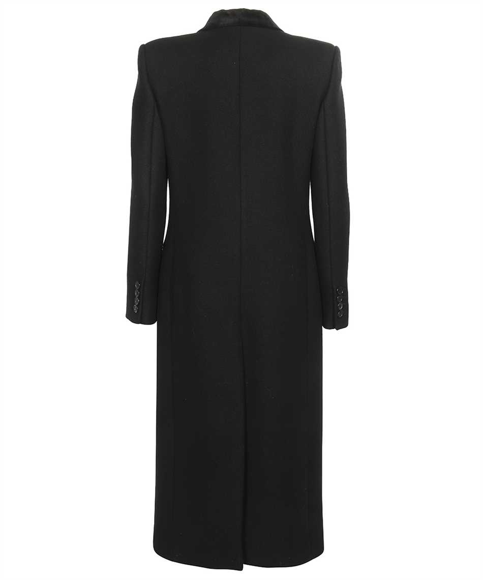 Saint Laurent 661315 Y5B58 DOUBLE-BREASTED LONG Cappotto 2