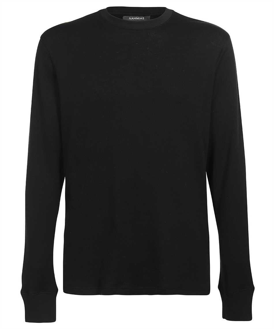 Nahmias CB SHIRT BLACK CASHMERE BLEND T-shirt 1