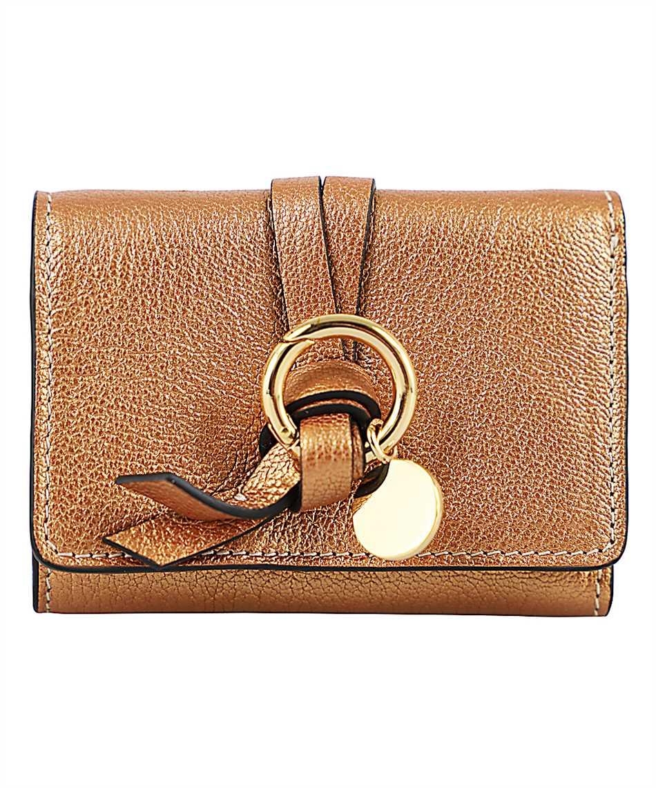 Chloé CHC20UP719C80 ALPHABET MINI TRI-FOLD Wallet 1
