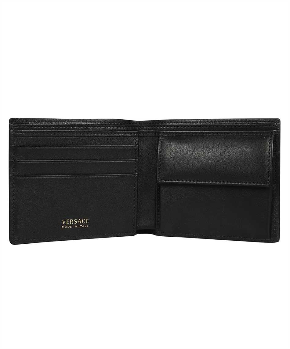 Versace DPU6737 DVT8ME LA MEDUSA LEATHER BIFOLD Wallet 3